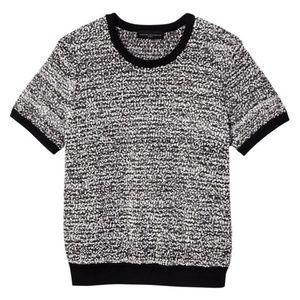 Victoria Beckham for Target••Black & White Sweater
